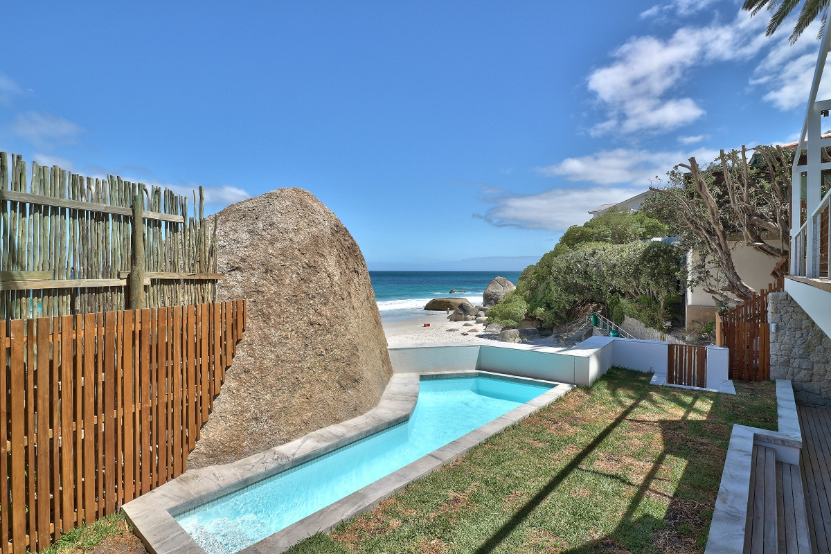 Rock Villa Clifton 3rd beach